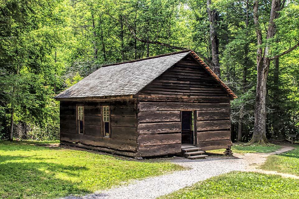 Little Greenbrier School in the National park