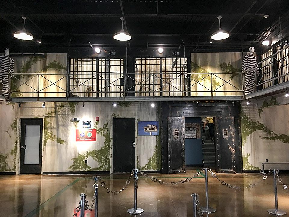 Lobby of Alcatraz East Museum