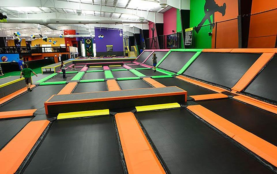 Topjump offers a variety of kid friendly activities