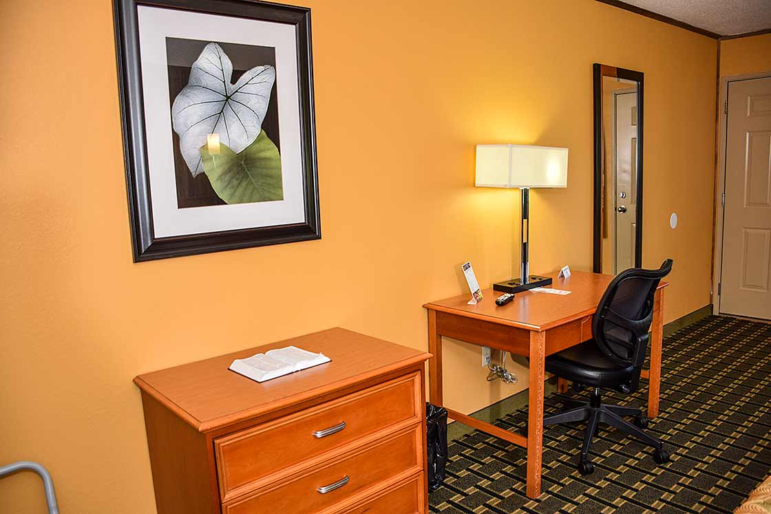 Work in comfort in our King rooms